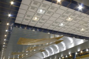 سقف کاذب - استخر