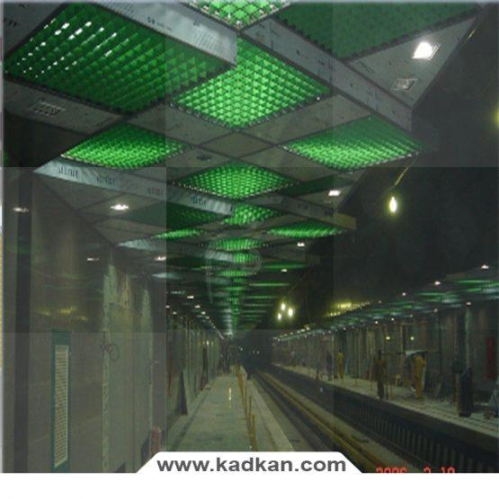 سقف کاذب- ایستگاه متروی امام حسین