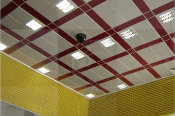سقف کاذب ایستگاه متروی اکباتان