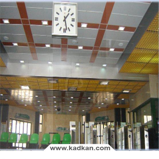 سقف کاذب ایستگاه متروی اتمسفر