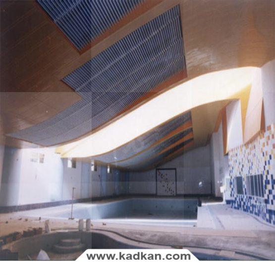 سقف کاذب استخر هتل گاجره