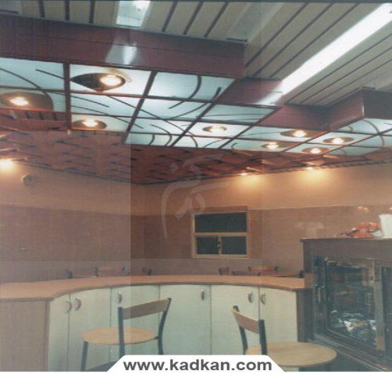 سقف کاذب سالن کشتی