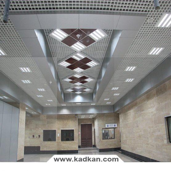 سقف کاذب ایستگاه متروی جوادیه