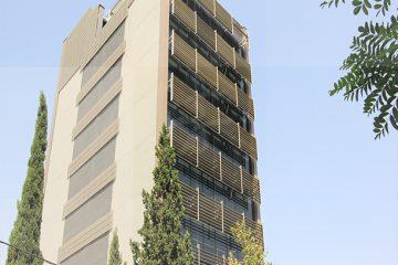 نمای کامپوزیت ساختمان آذران