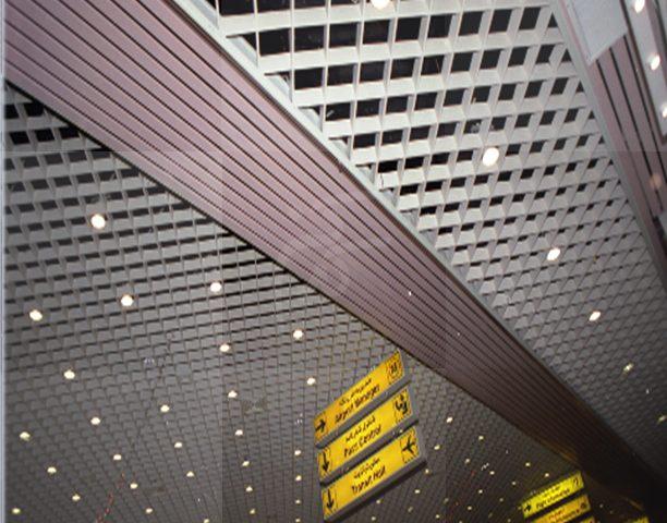 سقف کاذب فرودگاه کیش