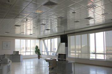 سقف کاذب نیروگاه ارومیه