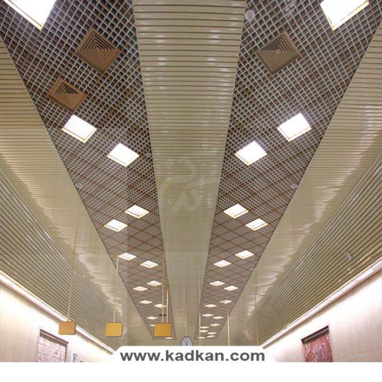 سقف کاذب ایستگاه متروی خواجه عبداله انصاری