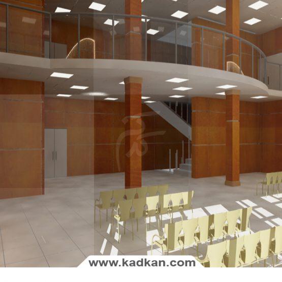 سقف کاذب بیمارستان نورافشان