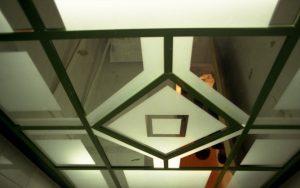 آینه سندپلاست - سقف کاذب