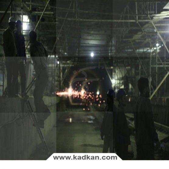 سقف کاذب ایستگاه متروی مهدیه