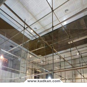 ایستگاه راه آهن ساوه - سقف کاذب