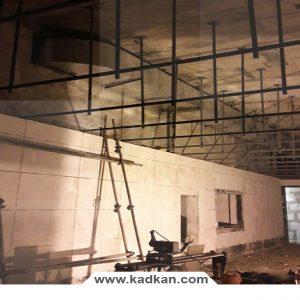 ایستگاه راه آهن شهدای مشهد - سقف کاذب