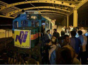 قطار کرمانشاه - سقف کاذب