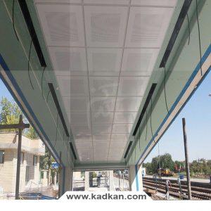 ایستگاه راه آهن نیشابور - سقف کاذب