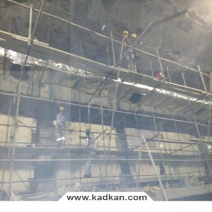ایستگاه متروی کریم خان - سقف کاذب