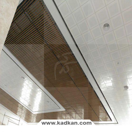 سقف کاذب ایستگاه راه آهن ساوه