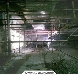 ایستگاه متروی نجات الهی - سقف کاذب